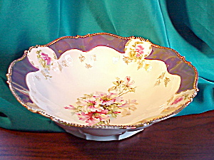 RS PRUSSIA MOLD 343 TIFFANY TRIMMED BOWL (Image1)