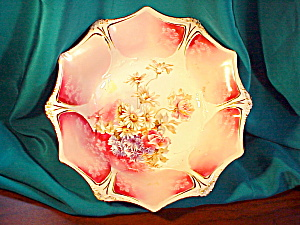 RS PRUSSIA HAND PAINTED ROSE PLATE (Image1)