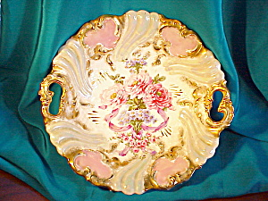 Exquisite, Ornate Rs Prussia O.h. H.p. Bowl