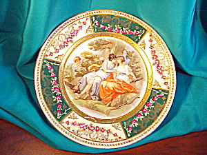 RS PRUSSIA GOLD TRIMMED PORTRAIT PLATE (Image1)