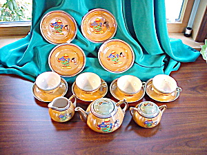 CHILD'S TEA SET - MADE IN JAPAN - 17 PIECES (Image1)