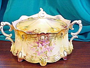 RS PRUSSIA RIBBON/JEWEL CRACKER JAR (Image1)