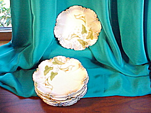 RS PRUSSIA SET OF SIX PIE CRUST MOLD CAKE PLA (Image1)