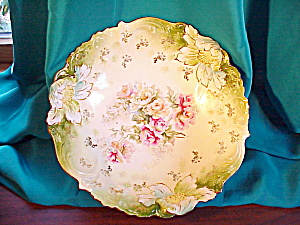 RS PRUSSIA STEEPLE MOLD 3 FLORAL BOWL (Image1)