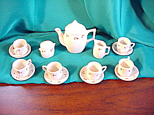 RS PRUSSIA(?) DOLL SIZE 17 PIECE TEA SET (Image1)