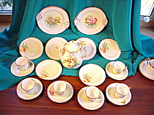 ORNATE RS PRUSSIA CHILDS TEA SET (Image1)