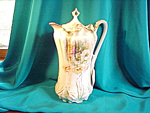 RS PRUSSIA(RM) LEAF MOLD CHOCOLATE POT (Image1)
