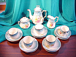 RS PRUSSIA (um) 17 PIECE CHILDS TEA SET (Image1)
