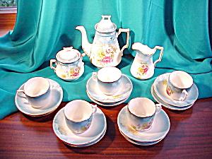 RS PRUSSIA (um) 17 PIECE CHILDS TEA SET (Image1)