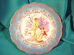 RS PRUSSIA CHERUB PLATE (Image1)