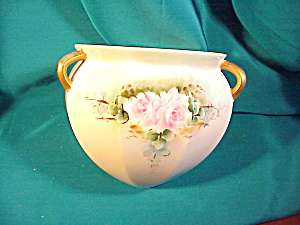 RARE RS PRUSSIA 3 HANDLE HANGING PLANTER (Image1)