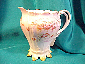 LOVELY RS PRUSSIA LEAF MOLD PITCHER (Image1)