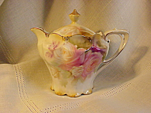 RS PRUSSIA MOLD 509 SYRUP W/ROSES (Image1)
