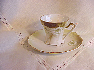 RS PRUSSIA DEMI CUP AND SAUCER - BEAUTIFUL (Image1)