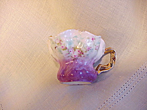 RS PRUSSIA MORNING GLORY TINY CUP W/BRT.GLD (Image1)