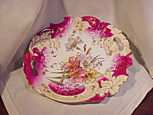 RS PRUSSIA MAGENTA WITH GOLD PLATE W/LEAVES (Image1)