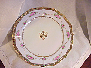 NIPPON HAND PAINTED GORGEOUS PLATE (Image1)