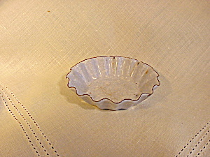 GRANITE WARE FLUTED TOY TART PAN (Image1)