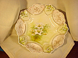 RS PRUSSIA BOWL IN BOWL WITH LILIES (Image1)