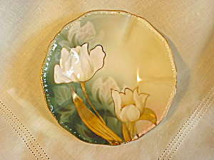 RS PRUSSIA MINT SET OF 6 BERRY BOWLS/TULIPS (Image1)