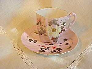 PAPER THIN FLUTED CUP AND SAUCER (Image1)