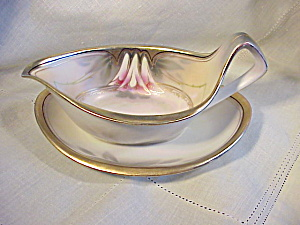 RS PRUSSIA ART DECO SAUCE W/UNDERPLATE (Image1)