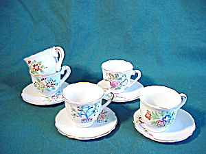 Japanese Child's set of Cups and Saucers (Image1)