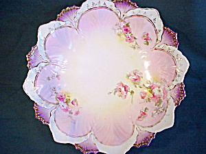 RS Prussia Eight Arched Bowl w/gold (Image1)