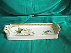 RS PRUSSIA (GERMANY) UNCOVERED BUTTER DISH (Image1)