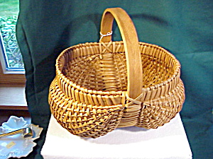 Large Old Buttocks Basket W/feet