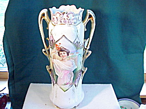 RS PRUSSIA SUMMER PORTRAIT VASE = LARGE (Image1)