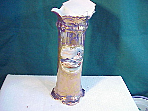 RS PRUSSIA TIFFANY VASE - FLORA W/GOLD (Image1)