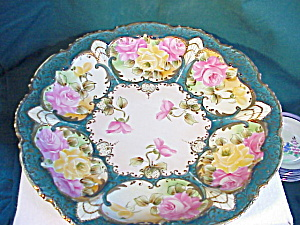 Nippon Huge Hand Painted Platter