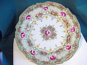 Nippon (Um) Gold Beaded Hp Plate
