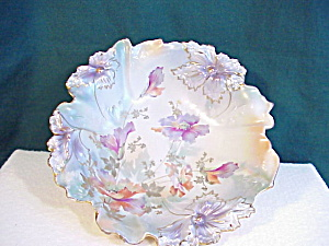 Rs Prussia Carnation Mold Tri-foot Tiffany Bo