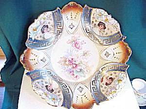 RARE RS PRUSSIA 4 PORTRAIT BOWL IN BOWL (Image1)
