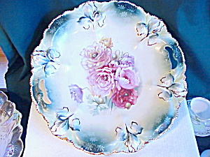 Rs Prussia Iris Mold Large Oh Plate