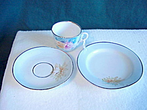 Rs Prussia Child Teaset (Plate, Cup, Saucer)