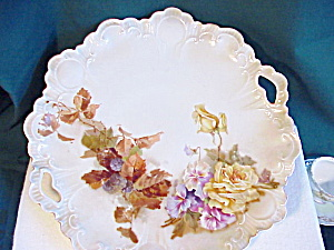 Rs Prussia Ornate Mold Oh Plate/blackberry