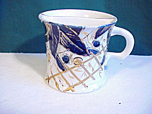 Rs Prussia Cobalt & Gold Shaving Mug