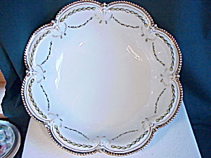 Rs Prussia Large Laurel Garland Bowl Nr