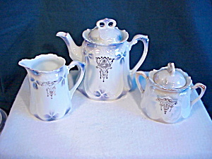 Antique German Child Tea Set