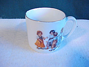 Child Tea Set Cup/germany/ring Around The Ros