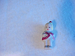 TINY FROZEN CHARLOTTE ? W/RED DRESS (Image1)