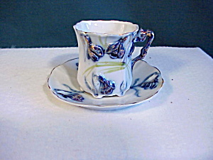 Rs Prussia Cobalt Cup And Saucer
