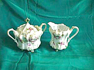RS PRUSSIA MOLD 703 creamer and sugar (Image1)