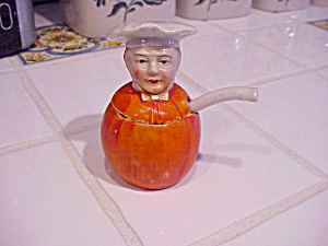 RS PRUSSIA (?) PUMPKIN MUSTARD AND SPOON (Image1)