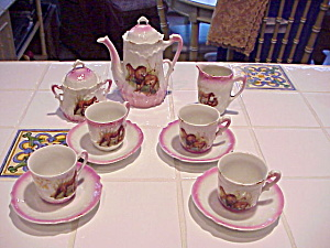 RS PRUSSIA LION AND TIGER CHILD TEA SET (Image1)