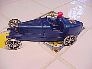 BERGMAN PLASTIC RACE CAR VINTAGE (Image1)