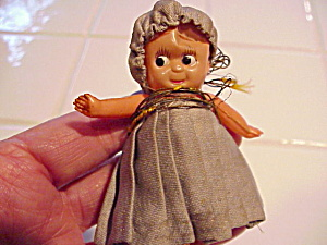 Googly Eyed Celluloid Doll
